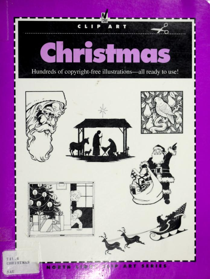 Christmas (Clip Art) by North Light Books
