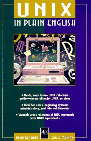Download UNIX in plain English