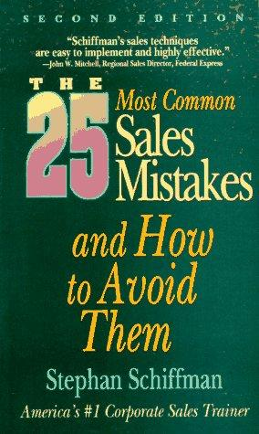 The 25 most common sales mistakes– and how to avoid them