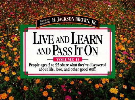 Download Live and Learn and Pass It on