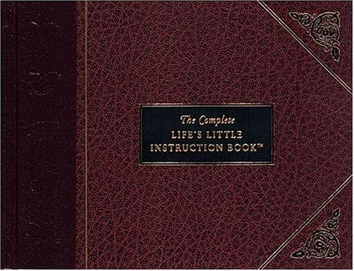Download The complete life's little instruction book
