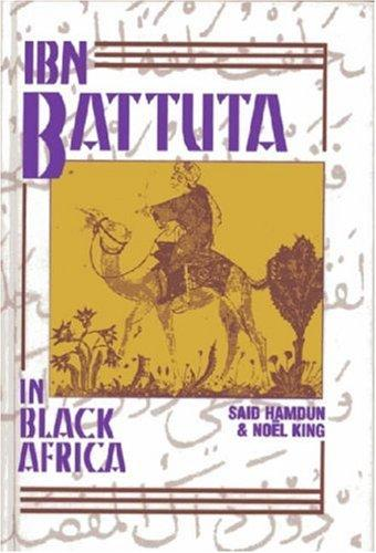 Download Ibn Battuta in Black Africa
