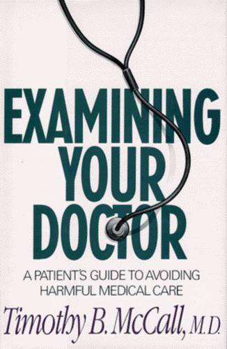 Examining your doctor