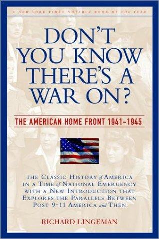 Download Don't you know there's a war on?