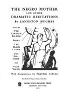 The Negro mother, and other dramatic recitations.
