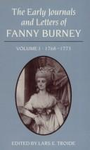 Download The early journals and letters of Fanny Burney