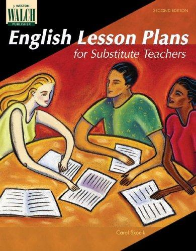 Download English Lesson Plans For Substitute Teachers