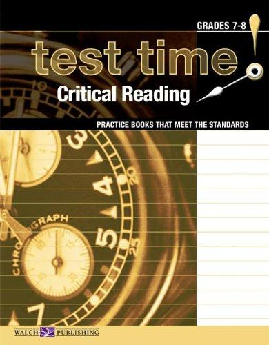 Download Test Time!  Practice Books That Meet The Standards