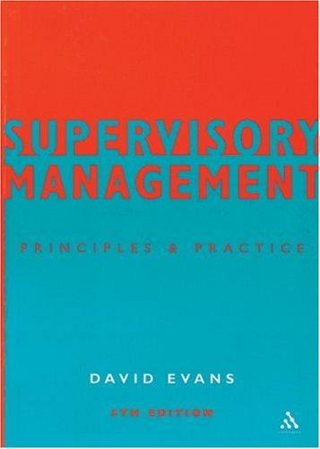 Download Supervisory Management