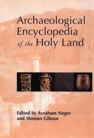 Download Archaeological Encyclopedia of the Holy Land