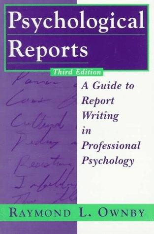 Download Psychological reports