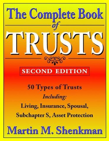 The complete book of trusts
