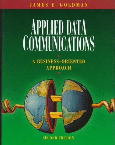 Download Applied data communications
