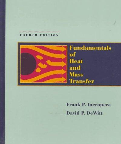 Download Fundamentals of heat and mass transfer