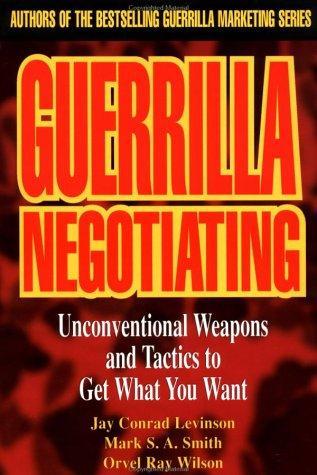 Download Guerrilla negotiating