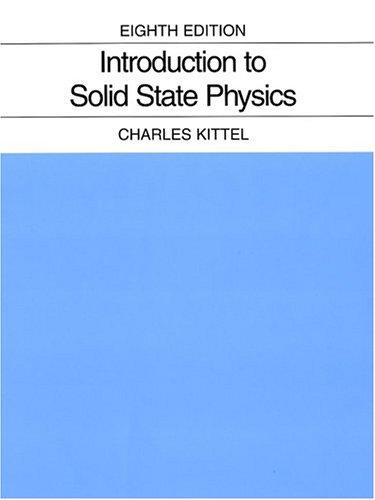 Download Introduction to solid state physics