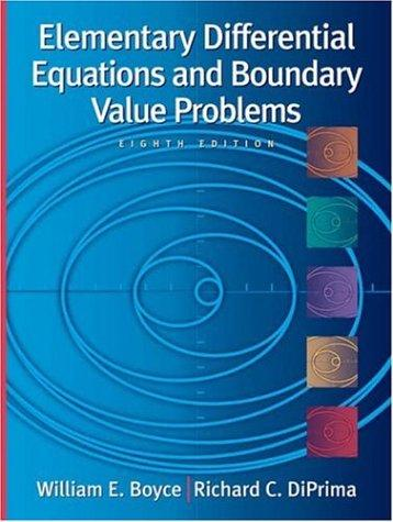 Download Elementary differential equations and boundary value problems
