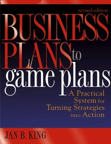Download Business plans to game plans