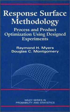 Download Response surface methodology