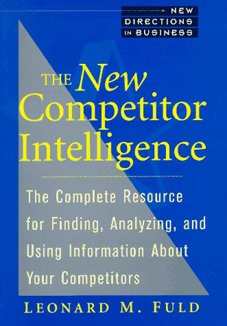 Download The new competitor intelligence