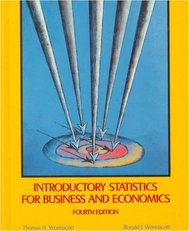 Download Introductory statistics for business and economics