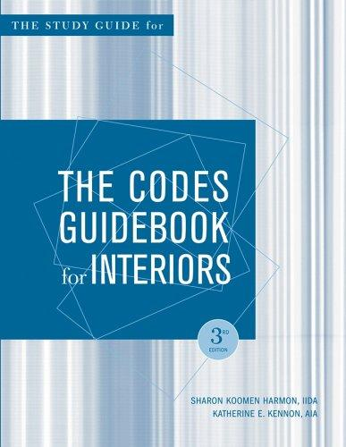 Download Study guide for the codes guidebook for interiors