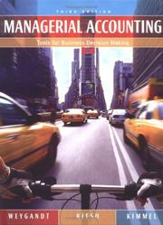 Managerial Accounting: Tools For Business Decision Making PDF Download