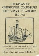Download The Diario of Christopher Columbus's first voyage to America, 1492-1493