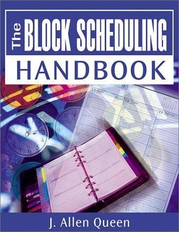 Download Block Scheduling Handbook
