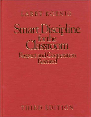 Download Smart discipline for the classroom