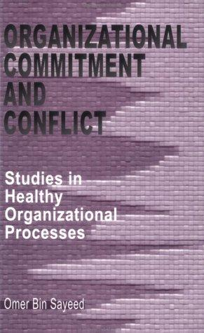 Download Organizational Commitment and Conflict