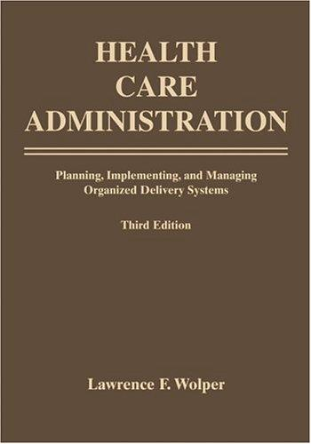 Download Health Care Administration