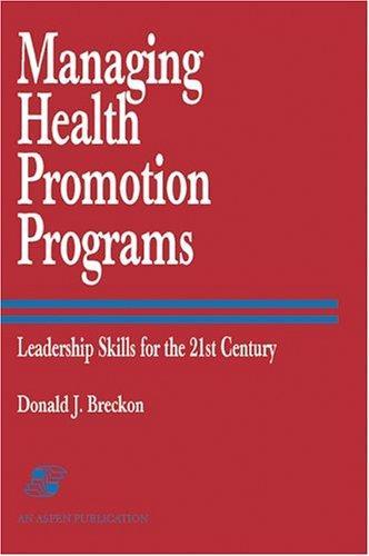 Download Managing Health Promotion Programs