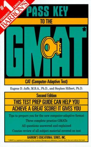 Download Barron's pass key to the GMAT, Graduate Management Admission test