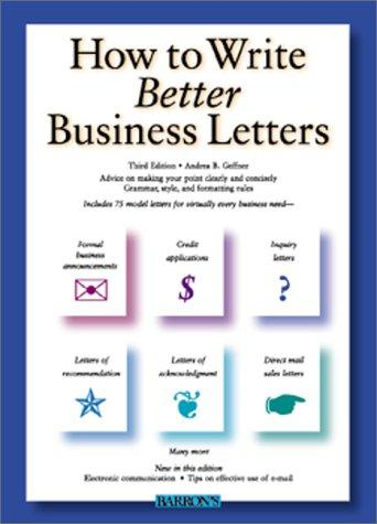 Download How to Write Better Business Letters