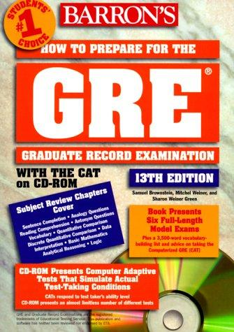 Download How to prepare for the GRE, graduate record examination