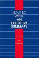 Download How to write an executive summary