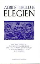 Albius Tibullus, Elegien