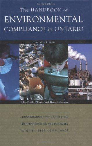 Download The Handbook of Environmental Compliance in Ontario