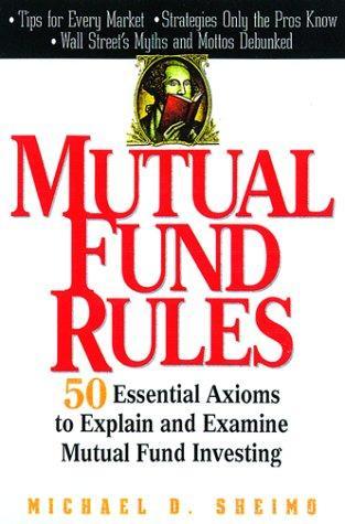 Mutual Fund Rules