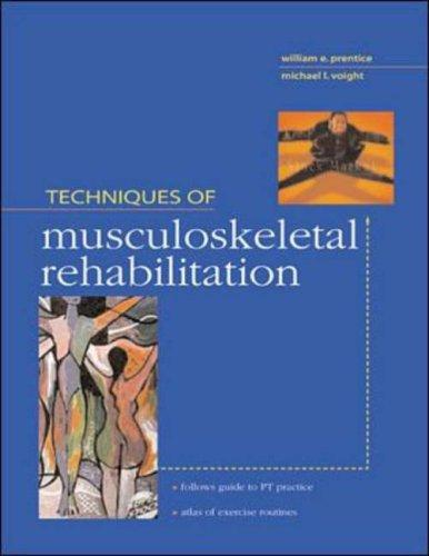 Download Techniques in Musculoskeletal Rehabilitation