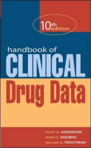 Download Handbook of Clinical Drug Data