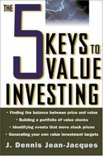 Download The 5 Keys to Value Investing