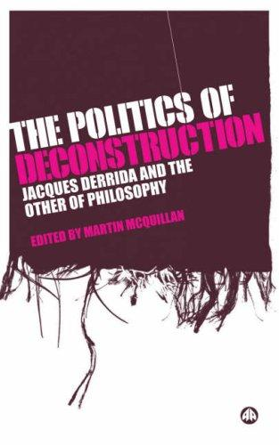 Download The Politics of Deconstruction