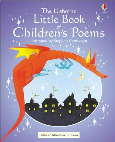 The Usborne Little Book of Children's Poems by Stephen Cartwright