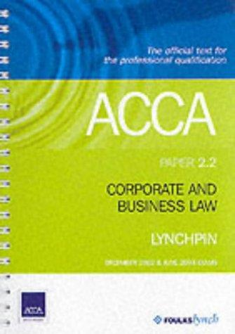 ACCA Official Lynchpin (Acca Lynchpins)