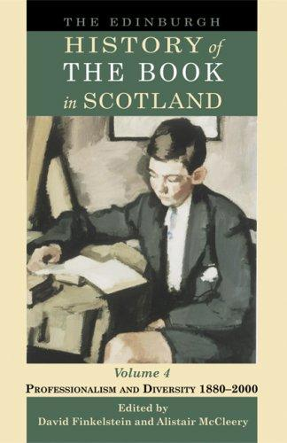 Download The Edinburgh History of the Book in Scotland