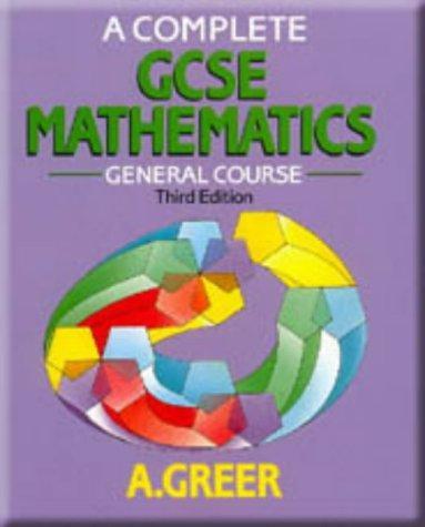 Download A Complete GCSE Mathematics