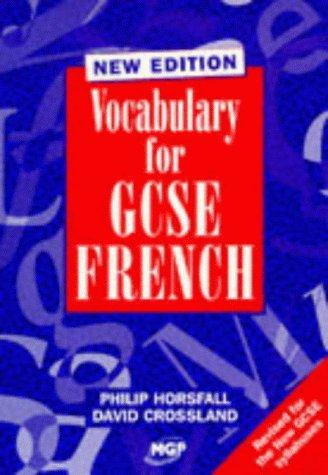 Download Vocabulary for GCSE French