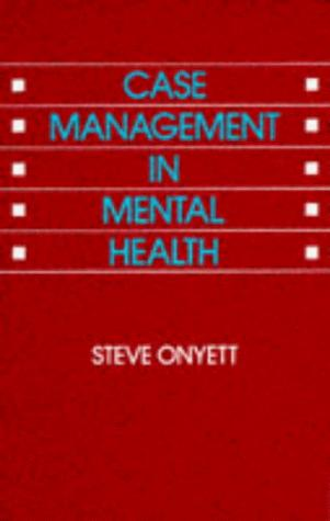 Download Case Management in Mental Health